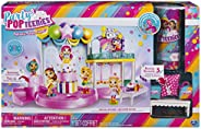 Party Popteenies - Poptastic Party Playset with Confetti, Exclusive Collectible Mini Doll and Accessories, for