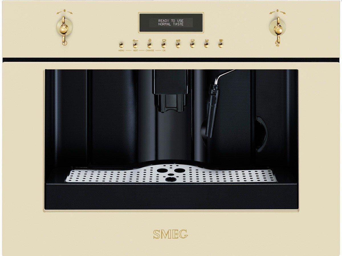 Smeg CM845P9 Máquina espresso 1.8L 2tazas Crema de color - Cafetera (Máquina espresso, 1,8 L, Granos de café, De café molido, Molinillo integrado, 1350 W, ...