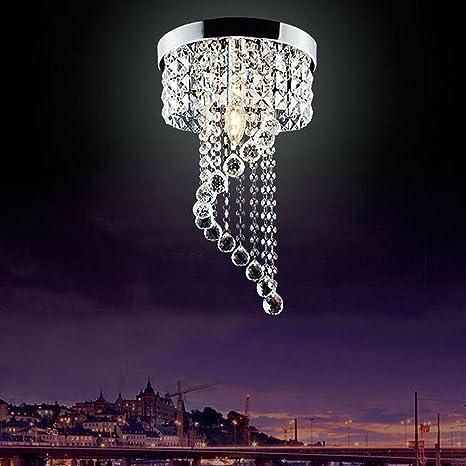 Modern led bulb ceiling light pendant lighting fixture crystal modern led bulb ceiling light pendant lighting fixture crystal chandelier aloadofball Images