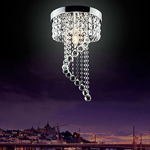 Modern led bulb ceiling light pendant fixture lighting crystal modern led bulb ceiling light pendant fixture lighting crystal chandelier aloadofball Image collections