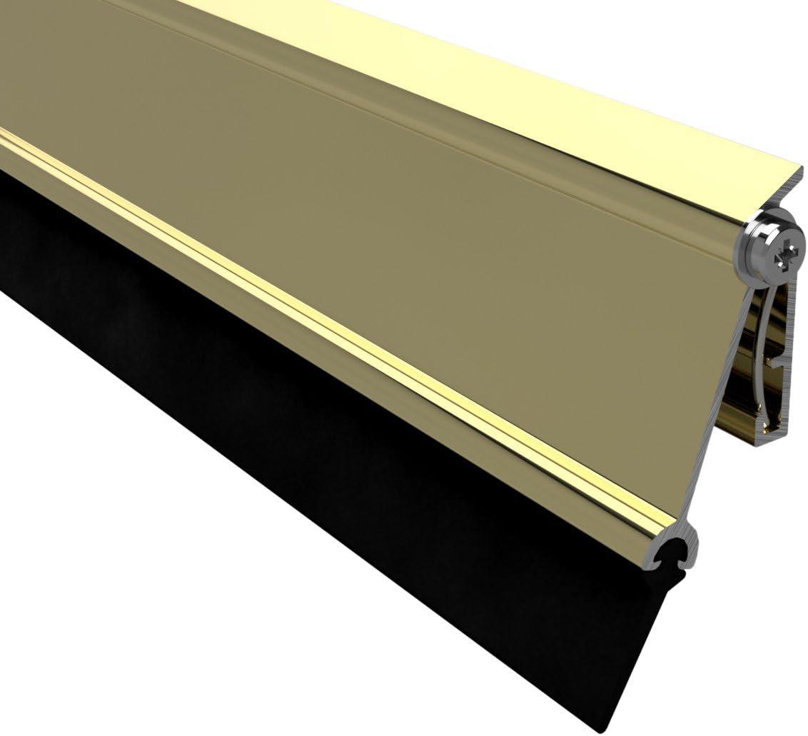 Stormguard 14sr5340914g 914mm AT3automático puerta umbral–efecto oro