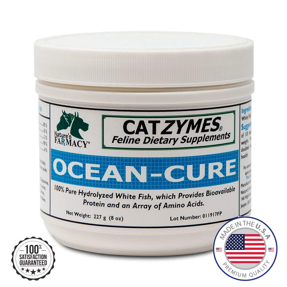 CATZYMES Ocean Cure for Aging Cats by CATZYMES