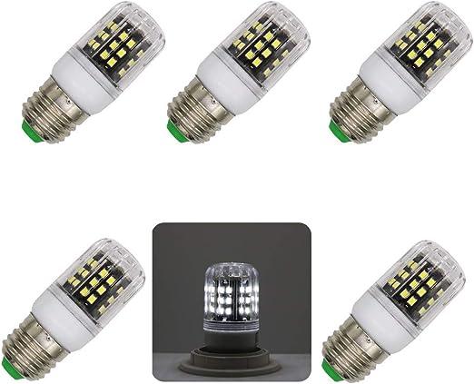 Bombillas , 5 Unids No Strobe 2835 SMD Bombilla de Proyector LED ...