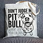 Don't Judge My Dog Tote Bag by Pet Studio Art 11