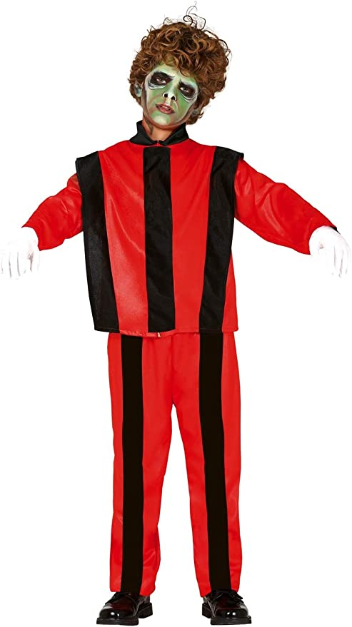 FIESTAS GUIRCA Disfraz de Michael Jackson Thriller Zombie Infantil ...