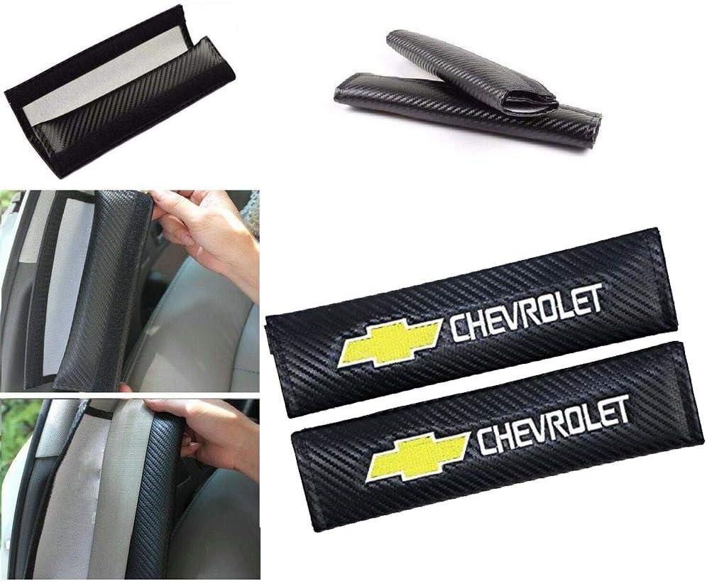fit GMC Wall Stickz car Sales 2 Pcs Car Seat Belts Covers Padding Carbon Fiber Leather Belt Shoulder Sleeve