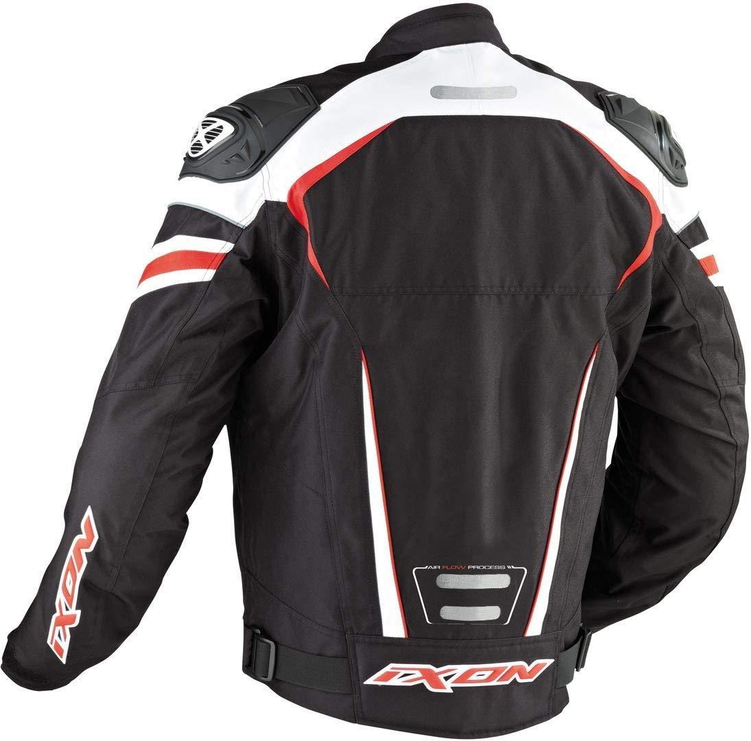Taille Xl Typhon Race Blouson Textile Homme Noir//Blanc//Rouge Ixon
