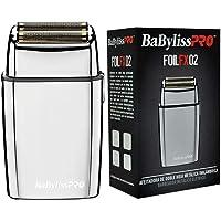 BaBylissPRO Cordless Silver Metal Double Foil Shaver, 1 count