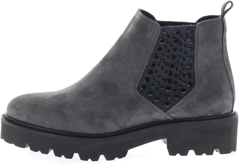 Alpe Woman Shoes Damen Stiefeletten Eveline 3730,11,46 grau 575556 Grau