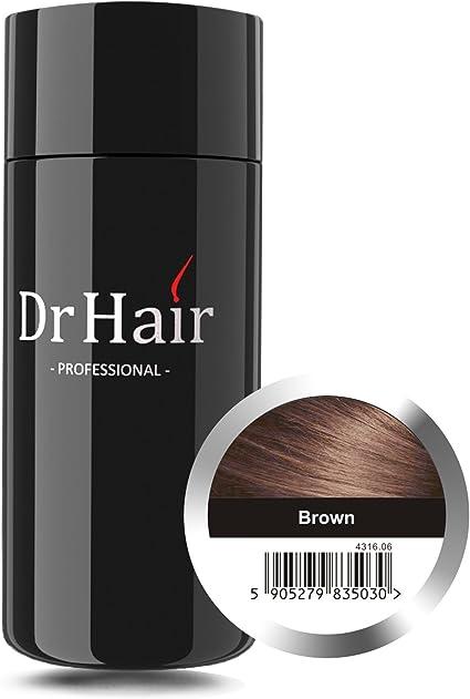 Dr Hair Fibers, Fibras de pelo, anti-caída del cabello, Queratina ...