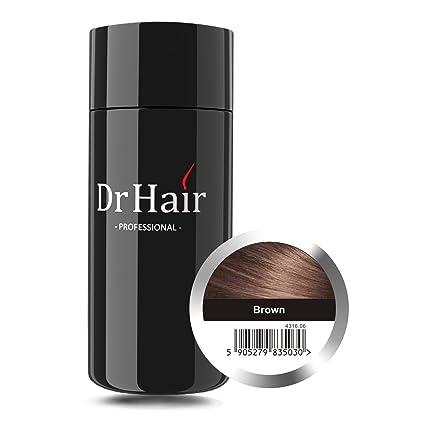 Dr Hair Fibers, Fibras de pelo, anti-caída del cabello, Queratina de