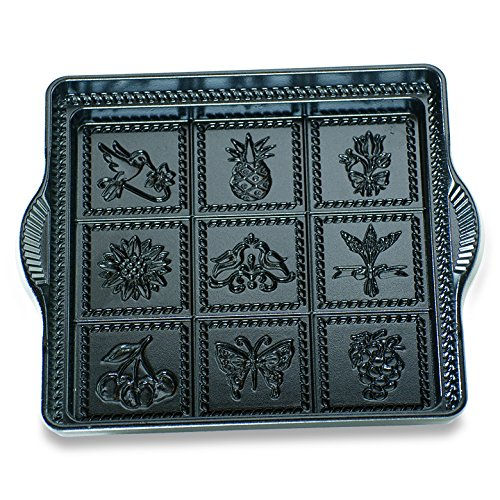 Nordic Ware Cast-Iron Aluminum 9-by-9-Inch English Shortbread Pan by Nordic Ware (Image #3)