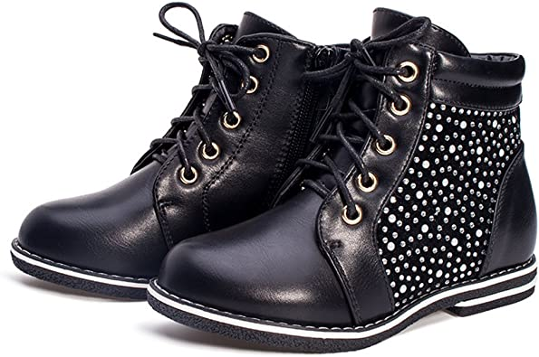 A2kmsmss5a Kids Boots PU Leather Boys