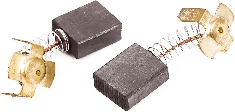 DealMux 1 pares de cepillos de carb/ón herramienta el/éctrica 18 x 15 x 7 mm para motor el/éctrico gen/érico