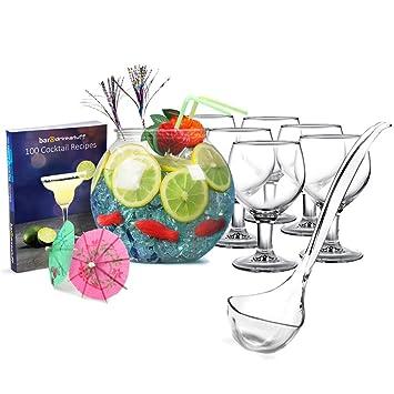 Juego de cóctel de cuenco de | Juego de Cocktail Party, Set de accesorios para de ...