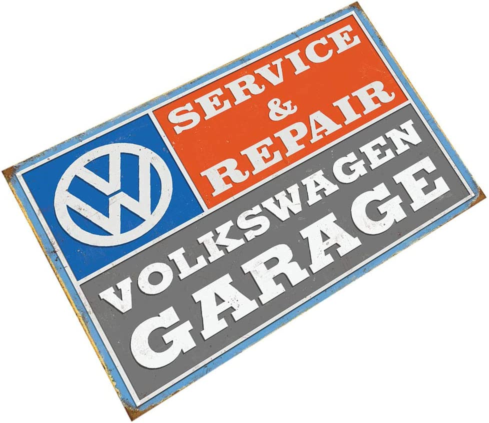 Volkswagen VW  Metal Wall Sign Pub Bar Kitchen Home Man cave Garage