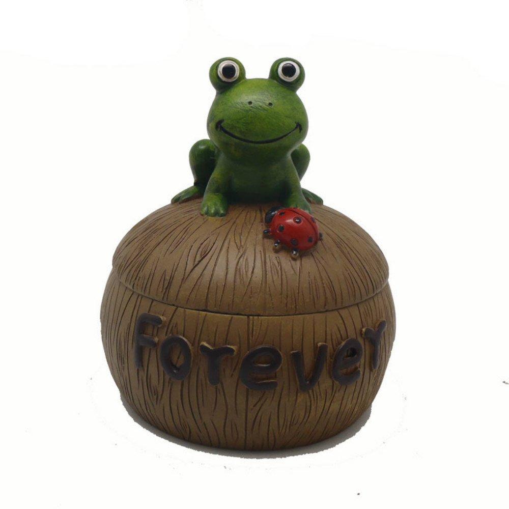 NEWQZ Cartoon Snail, Caterpillar, Resin, Ashtray, Turtle, Frog, Animal Ashtray.
