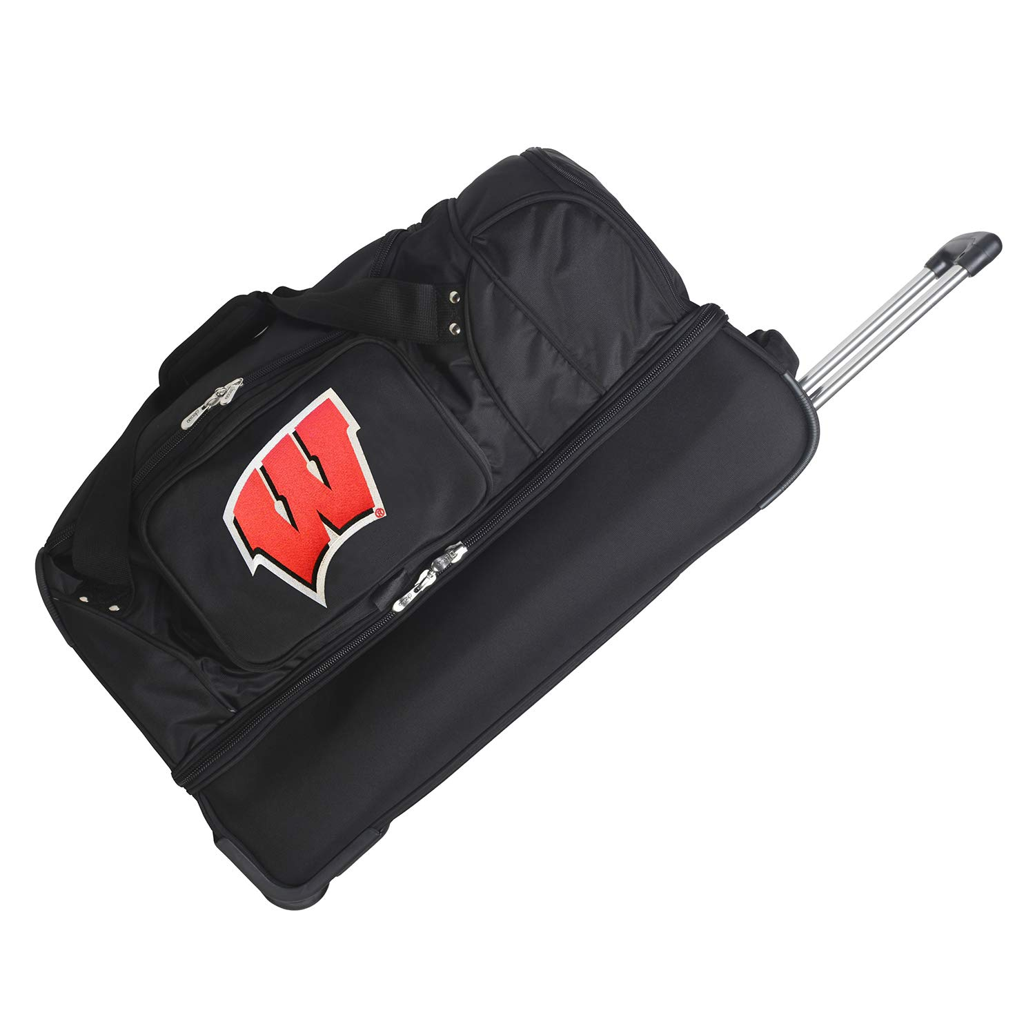 NCAA Wisconsin Badgers Rolling drop-bottomダッフル   B00AYAN40O