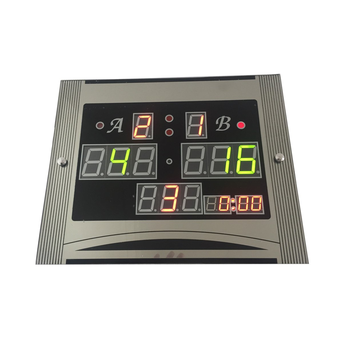 Ledgital Scoreboard for Snooker Game LED Snooker Scoreboard for Players 14x11.4x1in. DLC Electronics
