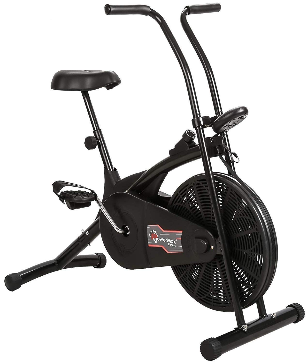 Powermax Fitness Air Bike Exercise Cycle for Weight Loss at