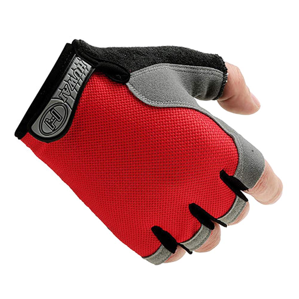 JoyFan Men Women Cycling Gloves Outdoor Sports Gloves Breathable Half Finger Gloves