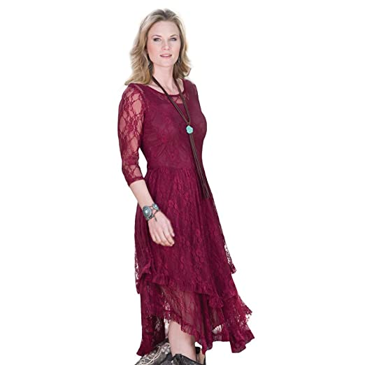 Dusty Burgundy Fields Lace Dress At Amazon Womens Clothing