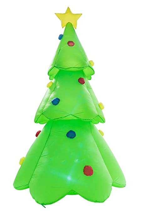 buyhive 88ft inflatable flash lighted tree ornaments holiday lawn yard mall decor