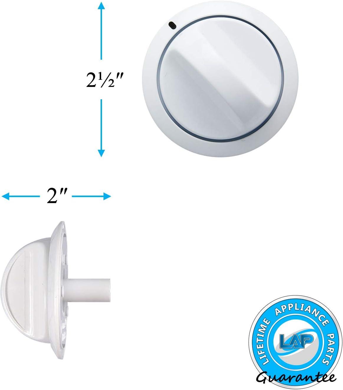 131873304 Genuine OEM Frigidaire Dryer White Timer Knob 1318733 131167804