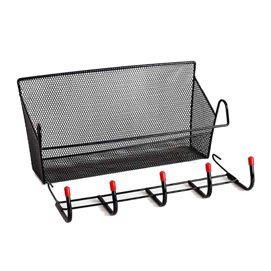 AIWO-PQ Storage Basket Metal Multi-Purpose Grid for Kitchen Living Room Storage