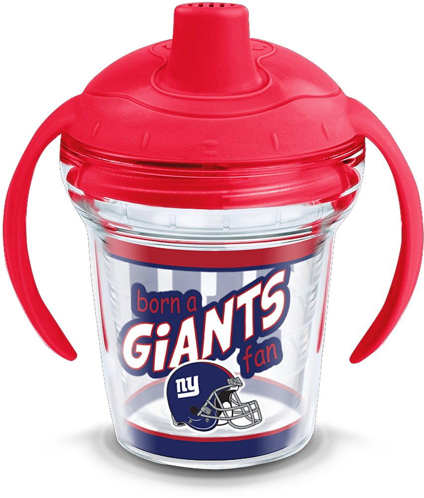 Tervis 1290812 NFL New York Giants Born A Fan Sippy Cup 6 oz Clear