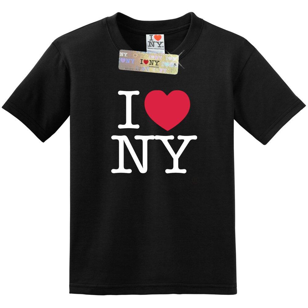 City-Souvenirs I Love NY T-Shirt Black Unisex Short Sleeve
