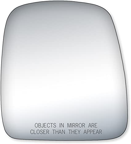 NEW Mirror Glass Adhesive 03-07 EXPRESS SAVANA VAN Driver Left Side LH