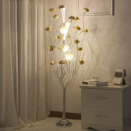 Exceptionnel LHRain Bedroom Lamps Floor Lamp, Living Room Bedroom Led Vase Decoration  Crystal Floor Lamp Personality