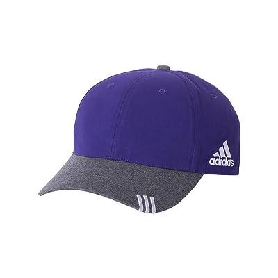 adidas - Collegiate Heather Cap - A625-Collegiate Purple/Dark Grey Heather