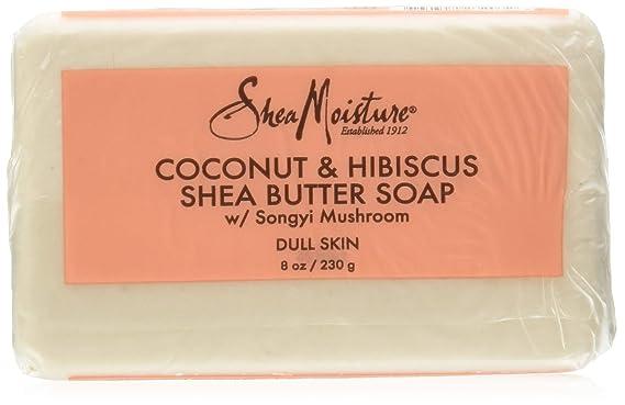 [SheaMoisture] Coconut & Hibiscus Shea Butter Soap