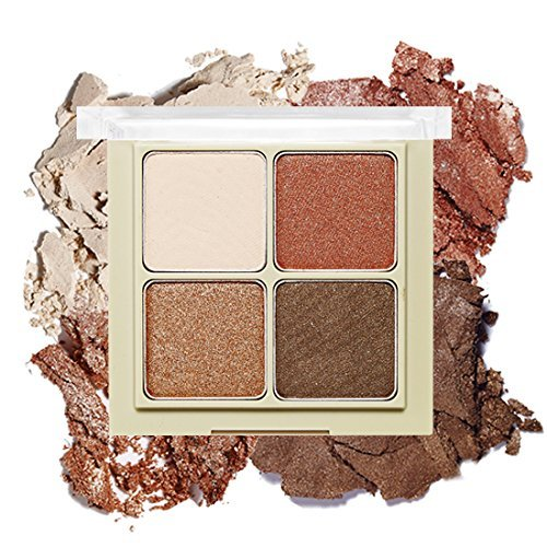 ETUDE HOUSE Blend 4 Eyes 04 COZY BEIGE Eye Shadow 4 Color Palette (Hot Item In Korea)