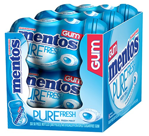 mentos-gum-pure-fresh-mint-50-count-pack-of-6