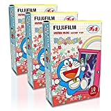 Fujifilm Instax Mini Doraemon Door 30 Film for Fuji 7s 8 25 50s 90 300 Instant Camera, Share SP-1 Printer