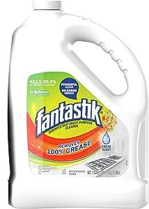 Fantastik Multi-Surface DEGREASER, Disinfectant, SANITIZER, Pleasant Scent, 1 Gallon Bottle