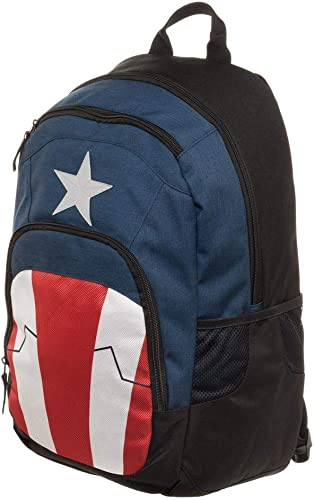 Classic Captain America Suit Backpack Standard