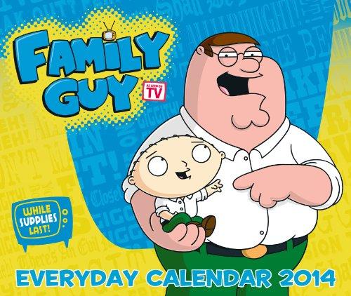 Official Family Guy Desk Block 2014 Calendar (Family Guy Desk Calendar)