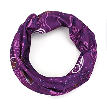 1ebf61714472 OUTERDO bandana Multifonctionnel Turban Echarpe Chapeau Masque Tour De Cou  Vélo Moto Ski violet