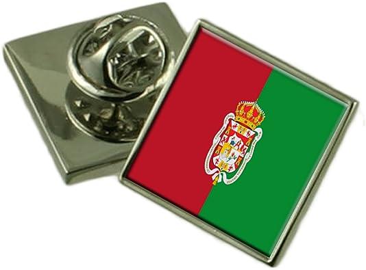 Select Gifts La Ciudad de Granada España Bandera Insignia de Solapa Pouch: Amazon.es: Joyería