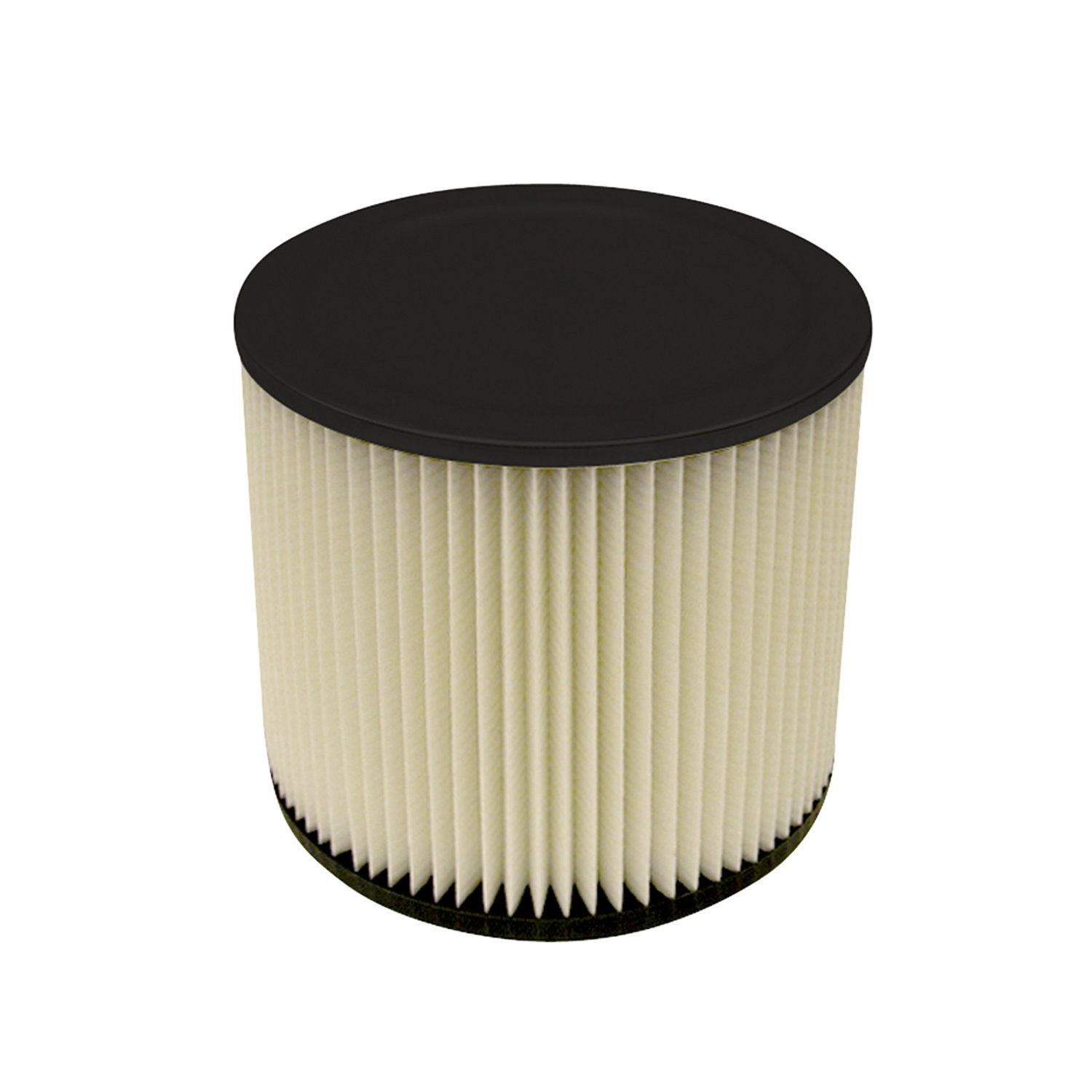 Multi-Fit Wet Dry Vac Filter VF2007 Standard Wet Dry Vacuum Filter (Single Shop Vacuum Cleaner Filter Cartridge) Fits Most 5-Gallon or Larger Shop-Vac, VacMaster and Genie Shop Vacuum Cleaners by WORKSHOP Wet/Dry Vacs