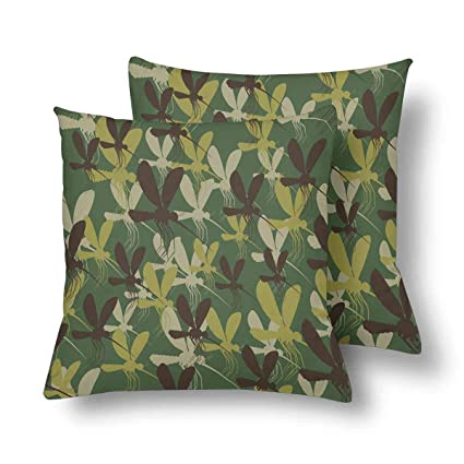 Amazon URDER Military Camouflage Mosquitoes Insects Protective Simple Protective Pillow Covers