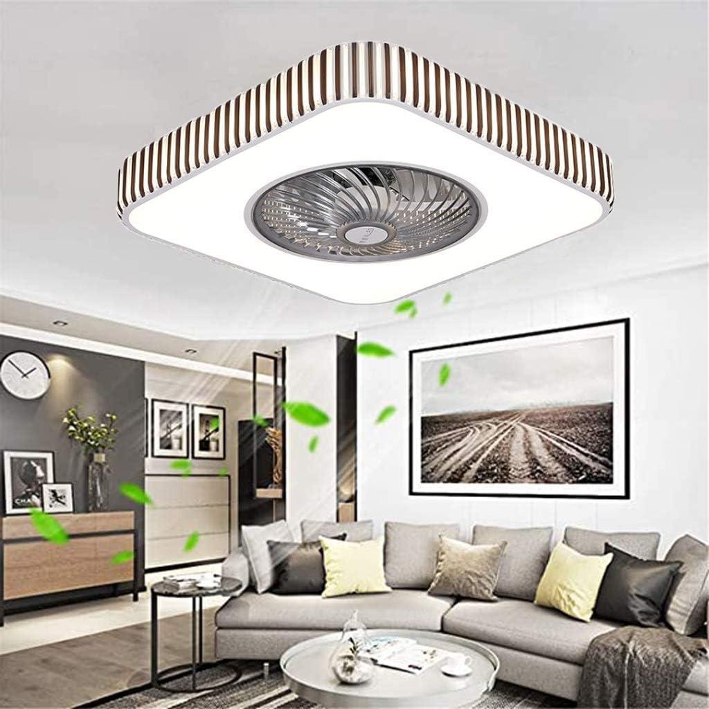 Witte LED Invisible Plafond Ventilator Licht, Dimbaar, Plein Inbouw Ventilator Aan Het Plafond Met Verlichting En Remote Silent 4 Snelheden (Color : 110v) 110v wBooCdIb