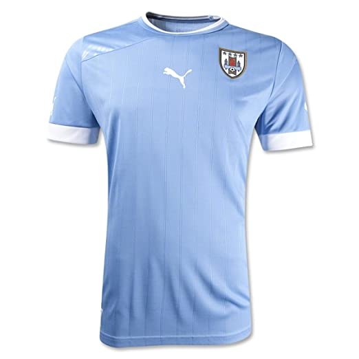 finest selection 51019 f1b87 Uruguay Home Replica Soccer Jersey
