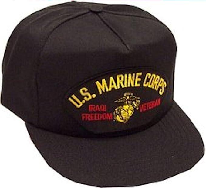 Amazon.com  U.S. Marine Corps Iraqi Freedom Veteran Ballcap ... 73d8c5d5fe1