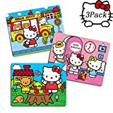 NEILDEN Hello Kitty 40 Piece Jigsaw Puzzle for Kids 4-8 for Children Learning Educational Puzzles Toys ( 3 pack2)