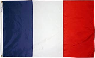 product image for Annin Flagmakers Model 192685 France Flag 3x5 ft. Nylon SolarGuard Nyl-Glo 100% Made in USA to Official United Nations Design Specifications.